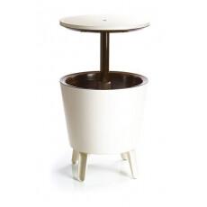 Столик-холодильник Keter Cool Bar, белый/шоколад