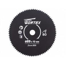 Диск пильный по металлу Wortex HS S080 M