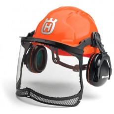 Шлем защитный Husqvarna Classic в комплекте с сеткой и наушниками