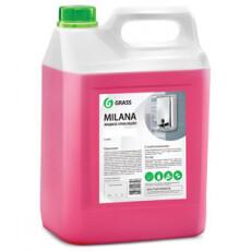 """Мыло жидкое для рук GraSS """"Milana"""" (спелая черешня) 5 кг"""