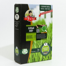 """Газонная смесь """"Зеленый ковер"""" (Эконом линия) 1 кг."""