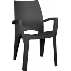 Стул пластиковый Keter Spring Chair (Спринг), графит