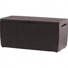 Сундук пластиковый уличный Keter Storage Box RATTAN STYLE (коричневый)