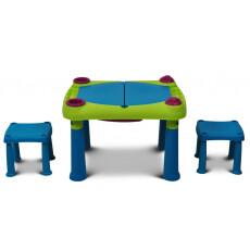 Детский набор Keter Creative Play Table (Криэйтив Тэйбл) с табуретками