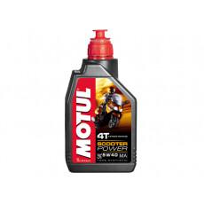 Моторное масло Motul Scooter Power 4T 5W40 1л