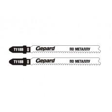 Пилка лобз. по металлу T118B (2шт.) GEPARD (GP0620-02)