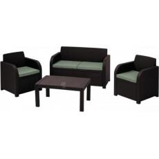 Комплект мебели KETER Carolina set, коричневый