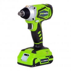 Гайковерт ударный аккумуляторный GreenWorks G24IW 24В