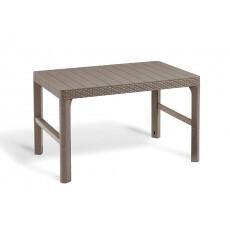 Стол уличный Keter Lyon table wicker (капучино)