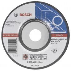 Зачистной круг Bosch МЕТАЛЛ 125*6*22мм
