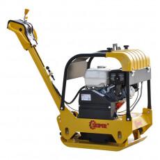 Виброплита SKIPER С160 (Honda GX270, 9.0л.с., плита 65х42см., 30.5кН, 15м/мин, реверс, колеса)