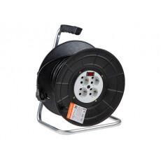 Удлинитель на катушке 30 м 4 розетки 3,0 кВт с выключателем ЮПИТЕР У16-055 (JP8303-30)
