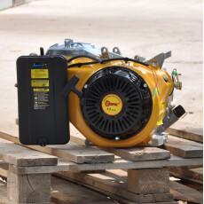 Двигатель бензиновый Skiper 188F для электростанции (конус)