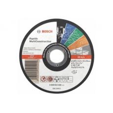 Отрезной круг Bosch MULTICONSTRUCT. 125x1.6 ММ