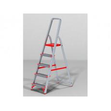 Лестница-стремянка алюм. проф. с широкой ступенью 103 см 5 ступ. 5,1кг NV500 Новая Высота (макс. нагрузка 225кг)