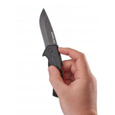 Нож выкидной MILWAUKEE HARDLINE с гладким лезвием [48221994]