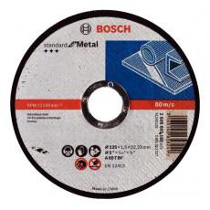 Отрезной круг Bosch МЕТАЛЛ 125Х1.6 ММ SfM