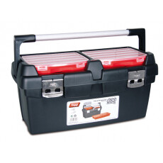 Ящик для инструмента пластмассовый с лотком TAYG 600