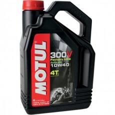 Масло  моторное Motul 300V FL ROAD RACING 10W40 4л