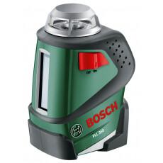 Нивелир лазерный линейный BOSCH PLL 360 с держателем в кор.