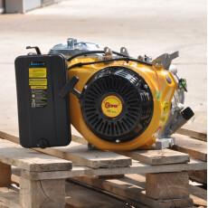 Двигатель бензиновый Skiper 190F для электростанции (конус)