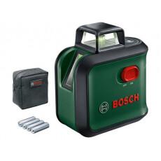 Нивелир лазерный линейный BOSCH Advanced Level 360 Set в кор.