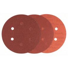 Шлифовальные листы Bosch 125мм K60/120/240 B.f.Wood 6шт.