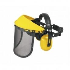 Щиток защитный Universal в комплекте с наушниками и сетчатой  маской