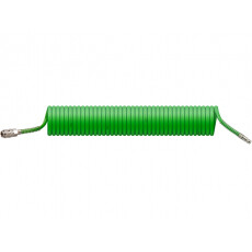 Шланг полиэт. спиральный ф 6,5/10 мм с быстросъемн. соед. ECO (длина 10 м)