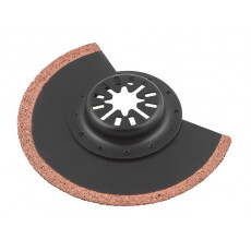 Полотно шлифовальное сегментированное карбидное 21х85 мм WORTEX (Подходит к Bosch,Makita, Sturm, Skil, Einhell, Hammer)
