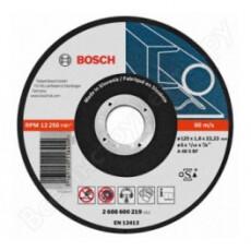 Отрезной круг Bosch МЕТАЛЛ 125Х1.6 ММ