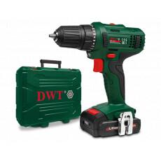Дрель аккумуляторная DWT ABS-14.4 L-2 BMC