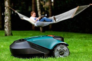 Роботы-газонокосилки Robomow в «Удачнике»