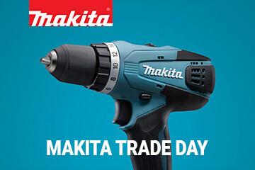 Makita Trade Day в магазине «Удачник» (Минский р-н, д. Боровая 7А, ТЦ «Боро»)