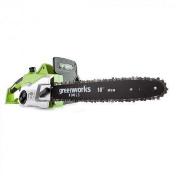 Пила цепная электрическая GreenWorks GCS 1840 1800 ВТ
