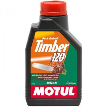 Масло Motul TIMBER 120 минеральное для смазки цепей бензопил, 1 литр