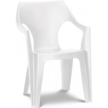 Стул пластиковый Keter Dante Low Back (белый)