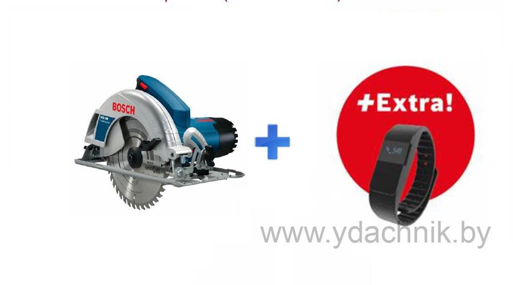 Дисковая пила Bosch GKS 190 + Фитнес браслет