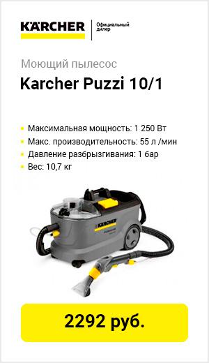 Проф пылесос моющий Karcher